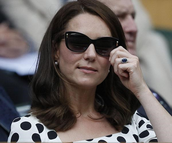 Kate gave her hair the chop during her third pregnancy.