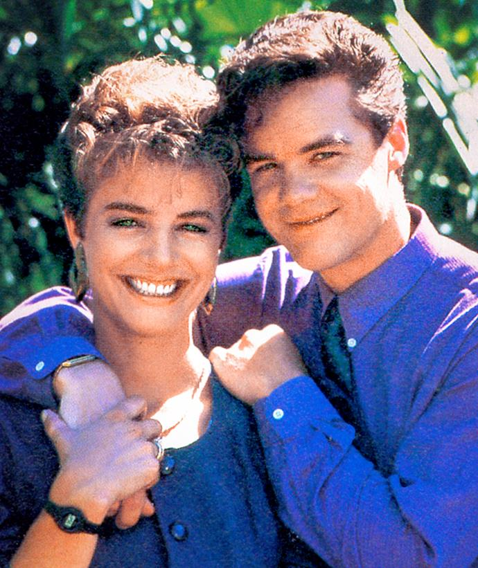 **GAIL & PAUL (1987-1989)**  **Paul met his match in this dynamic partnership.**  Playboy Paul Robinson (Stefan Dennis) dated many women, but few could match him the way Gail Lewis (Fiona Corke) did. Paul hired Gail to work with him – and they entered into a marriage of convenience to impress a client. Although the union soon became the real deal and they had triplets, the pair later split up. They reunited in 2005, but the spark had gone.