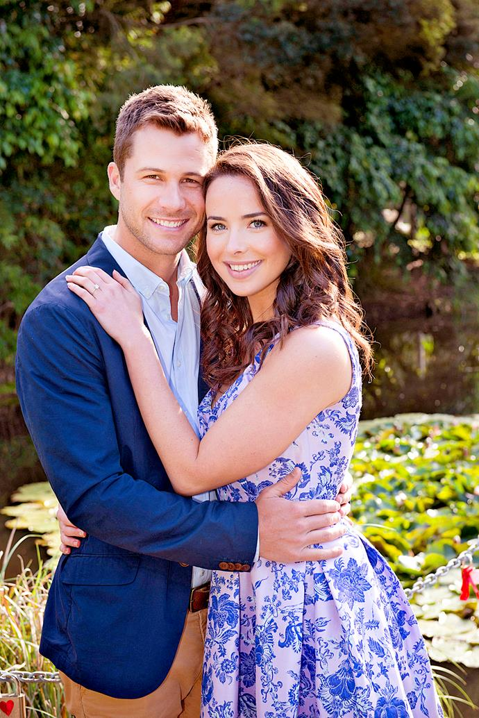 **MARK & KATE (2010-2014)**  **On-again, off-again love ends in tragedy.**  Mark Brennan (Scott McGregor) and Kate Ramsay (Ashleigh Brewer) were a match made in heaven. Sadly, their relationship was fraught with peril – thanks to Mark's job as a cop and his time spent in a witness protection program. After many hurdles, the two reunited and Mark proposed. But tragedy struck when Kate was shot and killed by baddie Victor Cleary (Richard Sutherland).