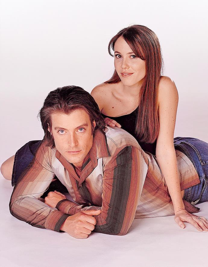 **DREW & LIBBY (1998-2002)**  **The couple's chemistry equalled true love on screen.**  Country boy Drew Kirk (Dan Paris) quickly fell for Libby Kennedy (Kym Valentine). They soon faced their first hurdle when Libby almost died following a motorbike accident. She then called off their wedding because the accident had left her infertile – or so she thought. Libby later gave birth to son Ben. But their world crumbled when Drew later died after falling from his horse.