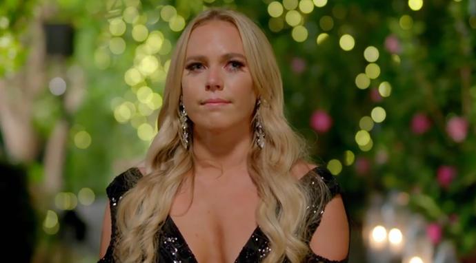 Australias hearts collectively broke when Cass didn't recieve a rose.
