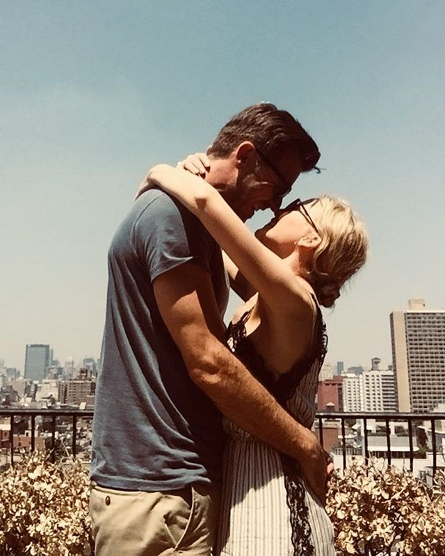 """The singer has shared some cute couple pics to her Instagram. *Image: Instagram / [@kylieminogue](https://www.instagram.com/p/Bkv5yhwHrON/?utm_source=ig_embed