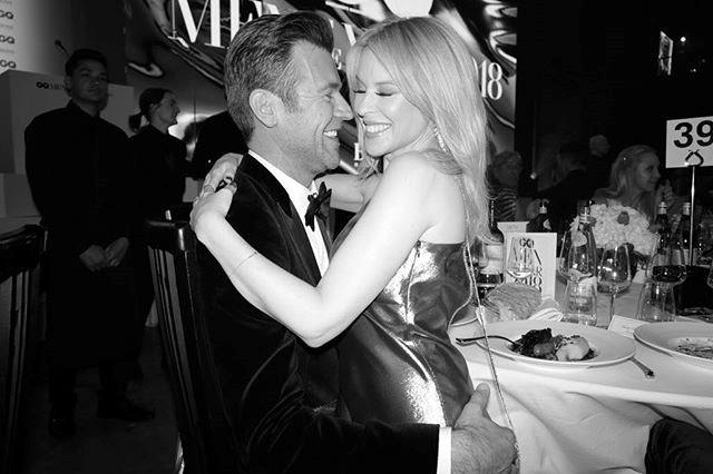 "Kylie is clearly feeling loved up. *Image: Instagram / [@kylieminogue](https://www.instagram.com/p/Bkv5yhwHrON/?utm_source=ig_embed|target=""_blank""|rel=""nofollow"")*"