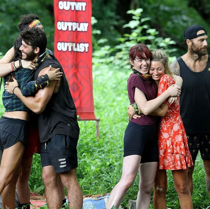 There's a lot of love between the cast.