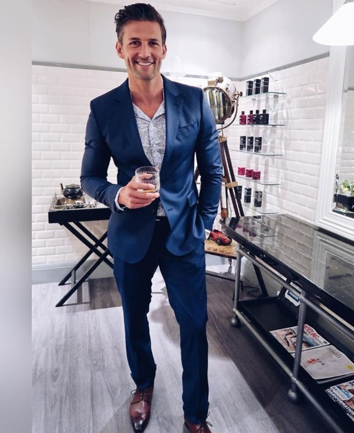 Tim Robards is ready for Hollywood!