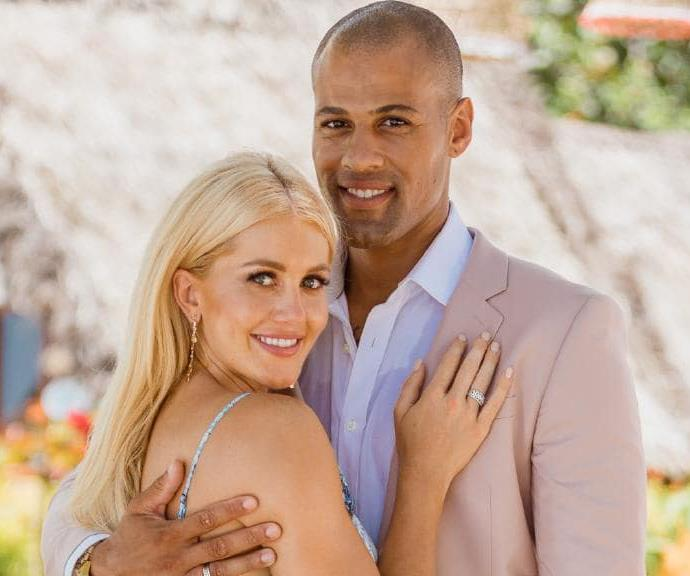 Ali and Grant met on the set of *Bachelor in Paradise*. *(Source: Network Ten Media)*