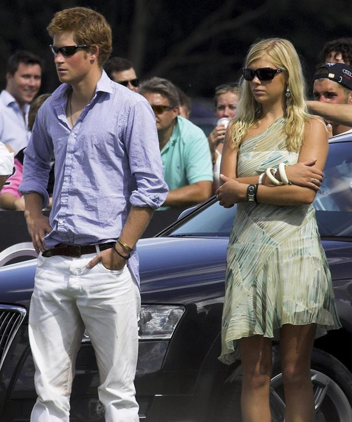 Prince Harry and Chelsy Davy had an on-again-off-again relationship between 2004-2011.