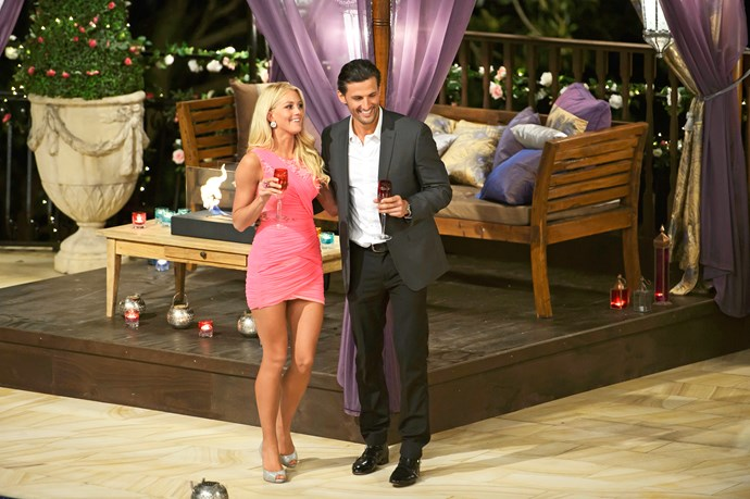 Ali was left heartbroken by Tim Robards on *The Bachelor* in 2013.