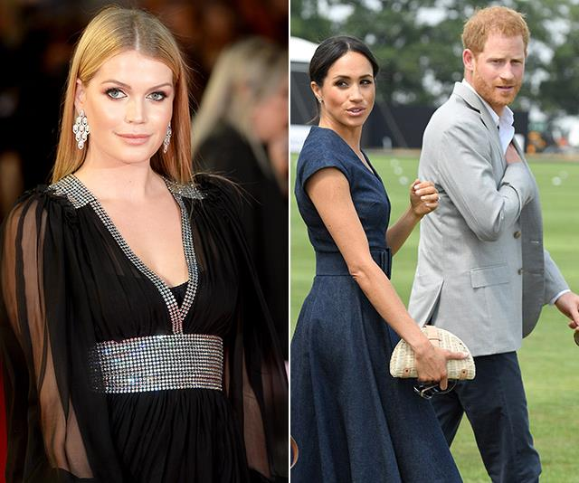 Lady Kitty Spencer's visit to Australia will coincide with Harry and Meghan's.