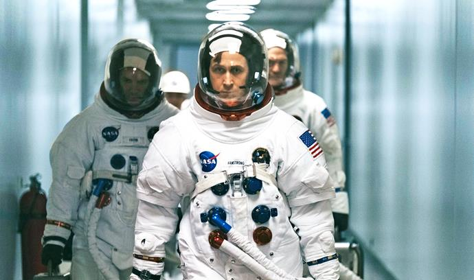 Ryan stars as Neil Armstrong.