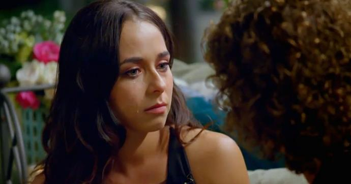 Brooke asked to leave *The Bachelor* after an emotional chat with Nick.