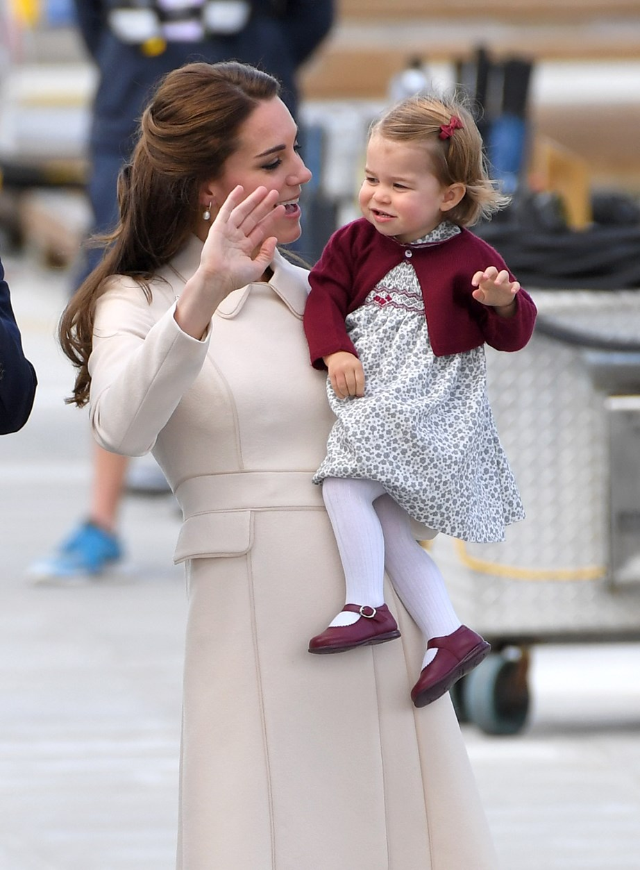 The young royals have clearly been taught by their pro-parents, Kate and Wills.