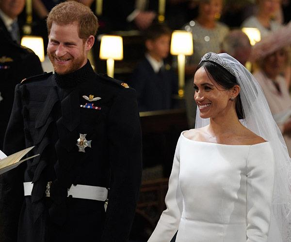 During the royal event, their love for each other was clear. They shared a number of laughs and sweet glances at each other as the ceremony progressed.