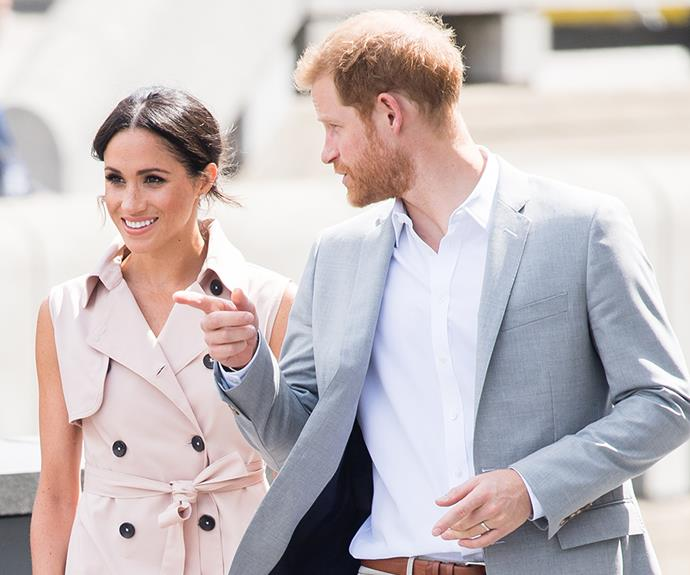 Duchess Meghan and Prince Harry are headed to the land down under!