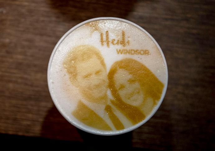 We're quietly hoping their coffees might look like this...