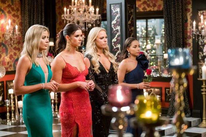 Sophie, Brittany and Cass were close on *The Bachelor Australia.*