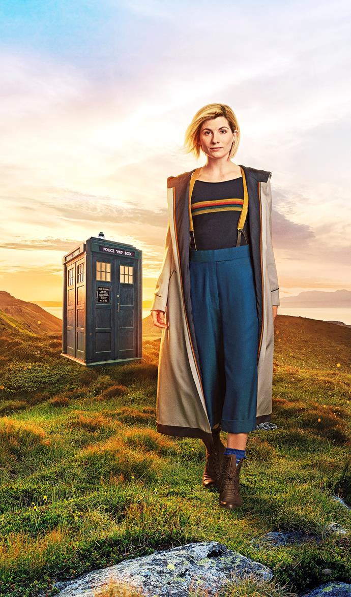 Jodie hopes that fans can look past the Doctor's gender.