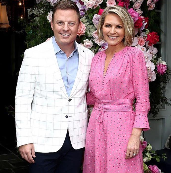 Ben is friends with *Today* host Georgie Gardner.