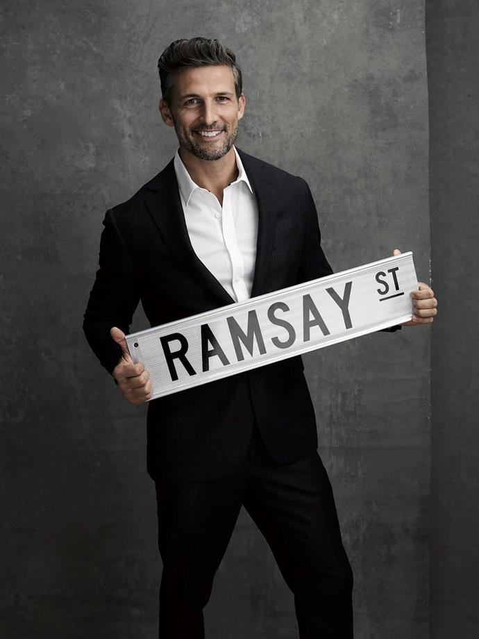 Tim loved his role on *Neighbours.*