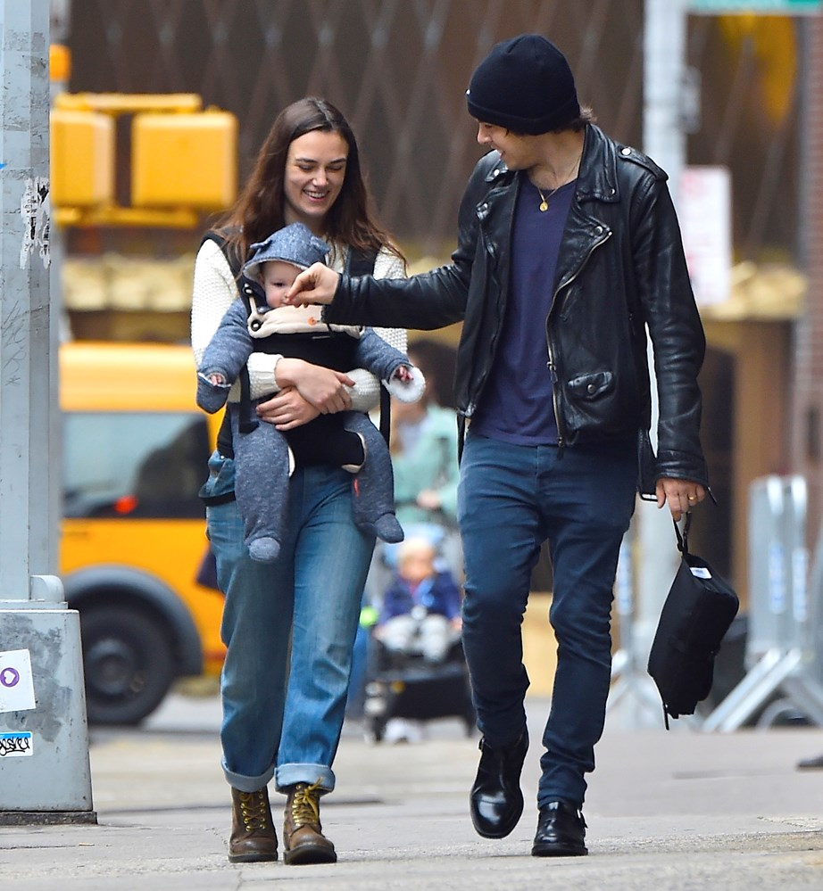 Keira gave birth to her baby daughter in 2015 with husband James Righton.
