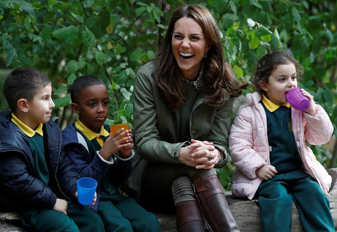 Duchess Catherine returned to work earlier in October after five-months maternity leave.