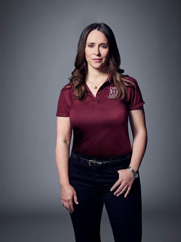 Jennifer as new emergency dispatcher Maddie in *9-1-1*.