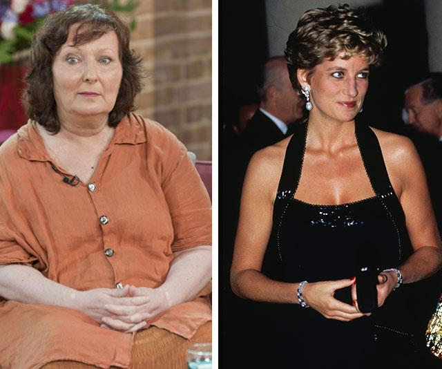 Simone was a good friend and spiritual adviser to the late Princess Diana. *(Image L-R: Rex Images, Getty Images)*