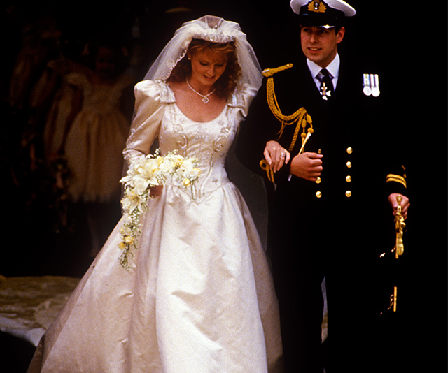 Sarah Ferguson And Prince Andrew S Wedding A Retrospective Australian Women S Weekly