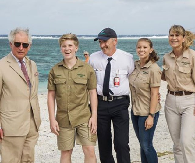 "It doesn't get more true-blue Aussie than this! Prince Charles [meets The Irwins on the stunning Lady Elliot Island.](https://www.nowtolove.com.au/royals/british-royal-family/prince-charles-and-camilla-broad-beach-46292|target=""_blank"") The Prince had wanted to visit the Barrier Reef, to see first hand the damage wrought by climate change and human kind. A passionate conservationist, Prince Charles was participating in a forum of business leaders, politicians, scientists and not-for-profit groups exploring new ways to protect the reef."