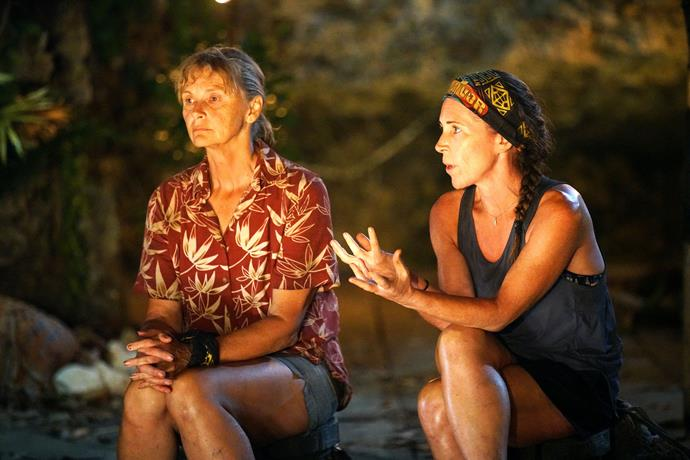 Shane and Sharn at their final tribal council.
