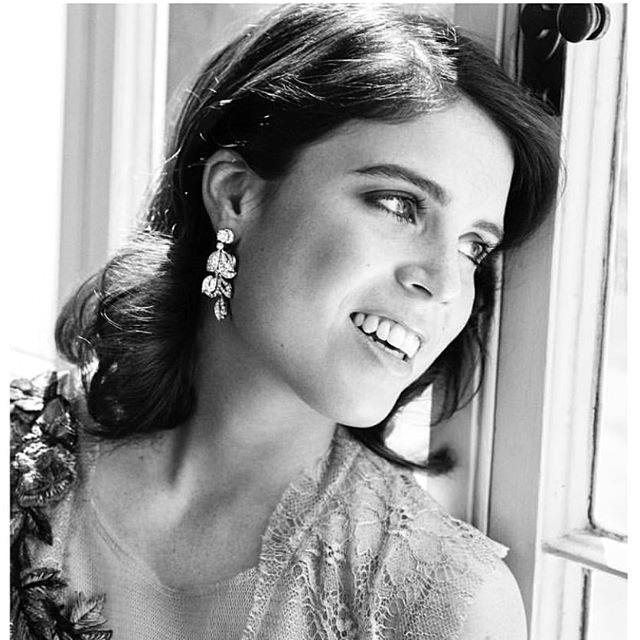 "The Princess shared this stunning photo with the caption: ""#tbt to some serious daydreaming going on here. Pre-wedding vibes!"" *Image: Instagram/[@princesseugenie](https://www.instagram.com/princesseugenie/