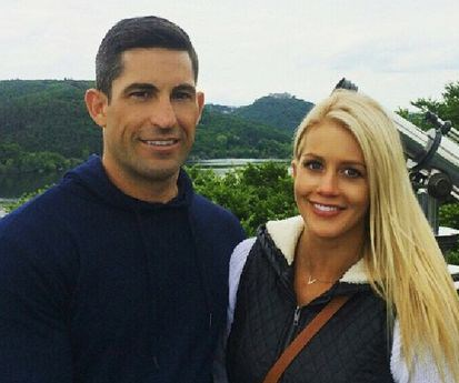 Ali was engaged to David Waldeck in 2015 and privately broke up. Image: Instagram