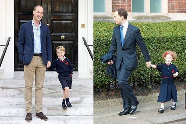 The two royal tots attend the same school in London!