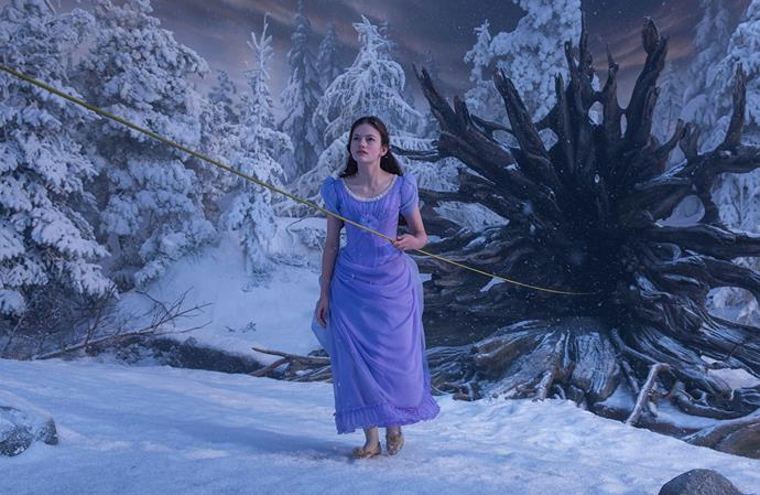 """Taking inspiration from 16th century German villages, the [Land of Snowflakes](https://ew.com/movies/2018/08/17/nutcracker-and-the-four-realms-behind-the-scenes-images/