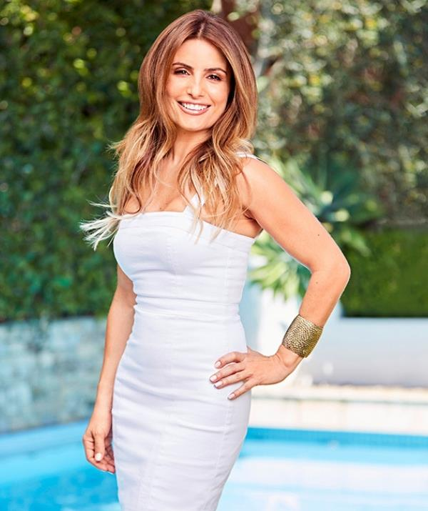 """*Home and Away* star Ada Nicodemou: """"I was very lucky to grow up in a household where Mum never dieted, so I've never seen my mum stress about her weight – it was always about healthy eating."""" *(Source: Exclusive photographs from Good Health and Wellbeing magazine.)*"""