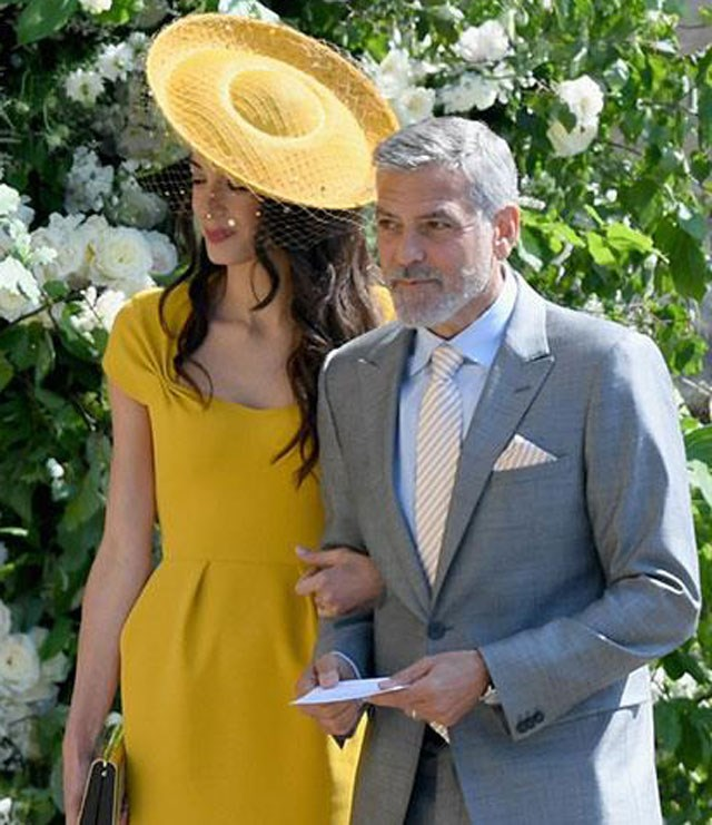 Will Jack's business colleague George Clooney and his wife Amal be at the wedding?