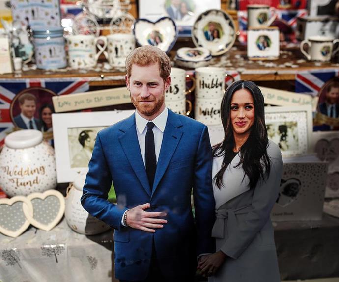 The memorabilia commemorating Prince Harry and Meghan Markle's wedding was unprecedented.