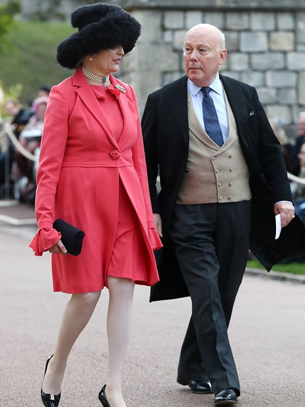 *Downton Abbey* creator Julian Fellowes and wife Emma Joy Kitchener.