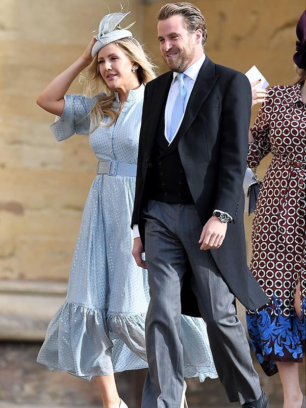 UK popstar Ellie Goulding is a long-time friend of Princess Eugenie's.