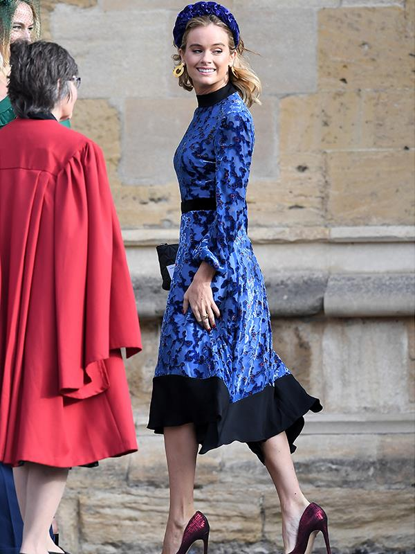 Watch out, Harry! The Prince's ex-girlfriend and actress Cressida Bonas looks positively gorgeous in this eye-catching ensemble.