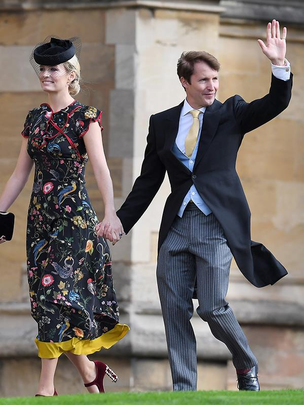 Back for round two! Fresh from their appearance at the May Royal Wedding, singer James Blunt and Sofia Wellesley return.