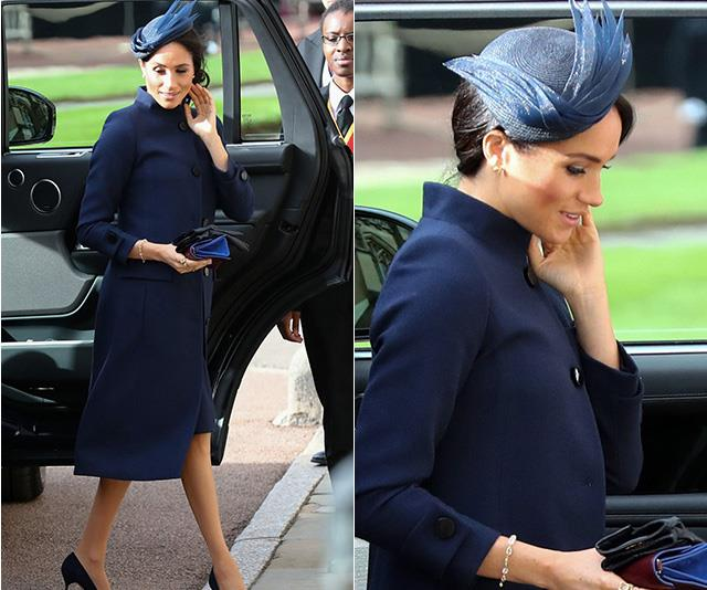 Duchess Meghan is a vision in Givenchy.