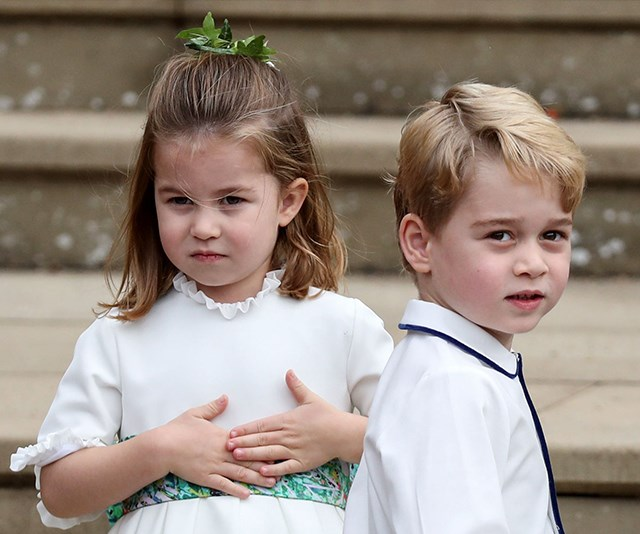 The little Cambridges are back.