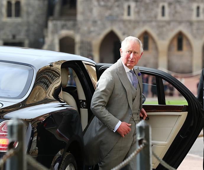 Prince Charles was flying solo as Duchess Camilla had a long-standing royal engagement she had promised to attend.