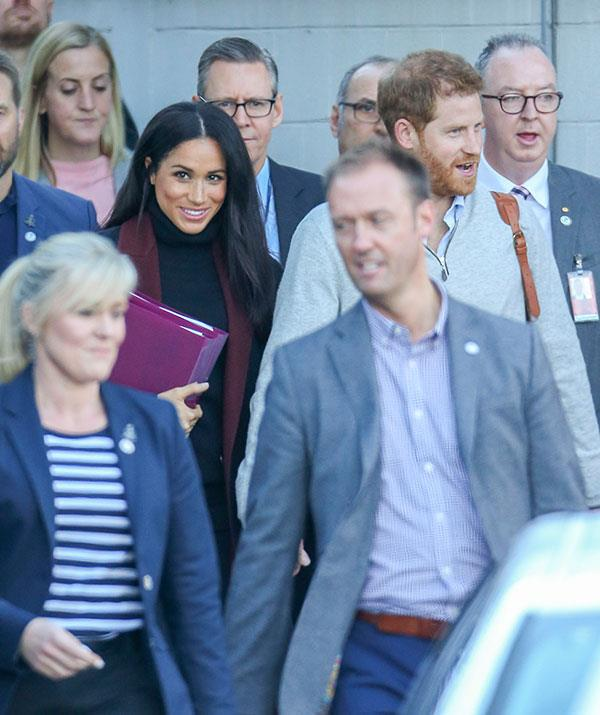 This marks Meghan's first-ever trip to Australia and as those folders reveal, she's clearly been doing her homework.