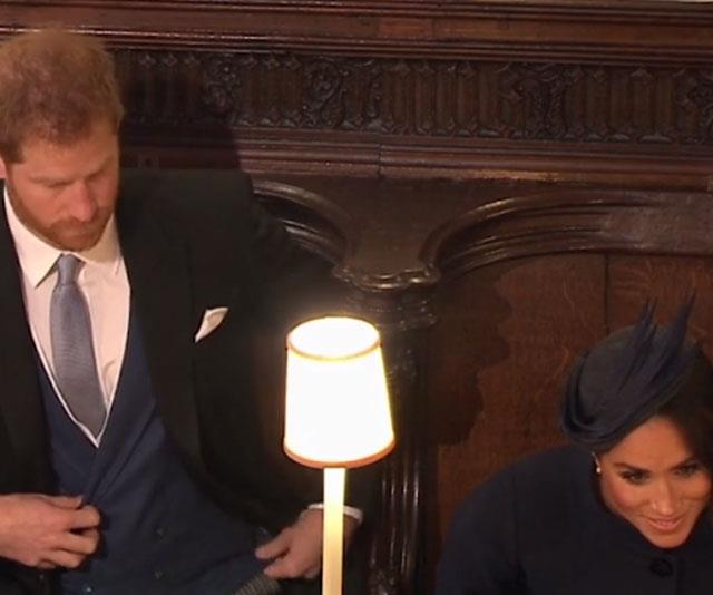 Meghan leans forward towards Zara Tindall. *(All above images: ITV)*
