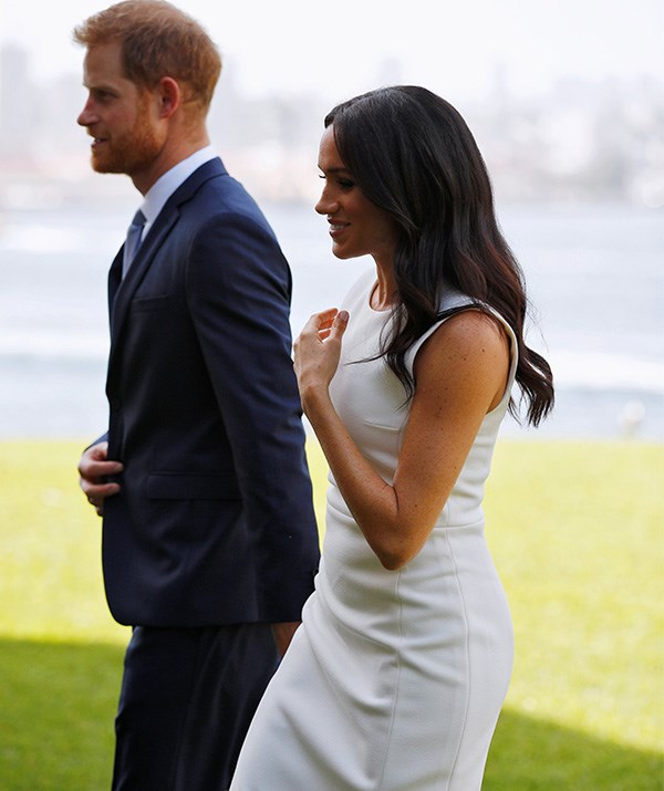 Prince Harry and Meghan are both ecstatic.