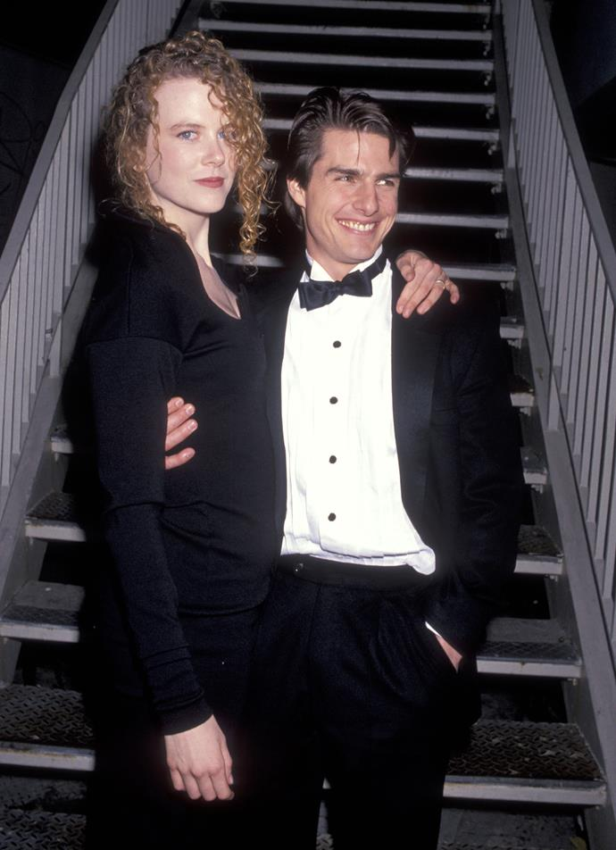 Nicole and Tom Cruise, during their marriage in the 1990s. *(Source: Getty)*