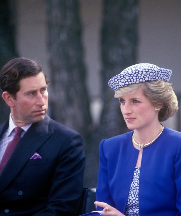 Princess Diana wore the pretty jewels on tour in Canada with Prince Charles in 1986 – just 18 months after the couple welcomed Prince Harry. *(Image: Getty)*