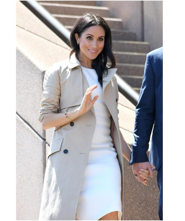 """""""It's important to know that she's a part of this with us,"""" Meghan has said of Princess Diana. *(Image: Getty)*"""